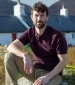 Largs Polo Shirt Bordeaux
